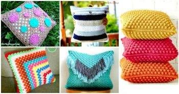 49 Free Crochet Pillow Patterns for Decorating Your Home