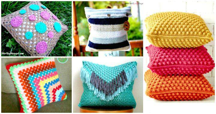 49 Free Crochet Pillow Patterns For Decorating Your Home Diy Crafts