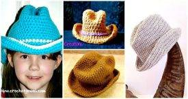 6 Free Crochet Cowboy Hat Patterns - Free Crochet Patterns - DIY Crafts - DIY Projects