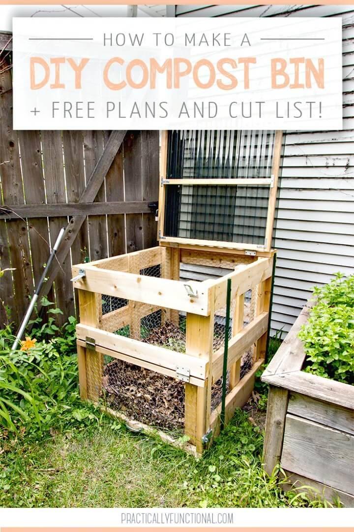 Adroable DIY Compost Bin Tutorial