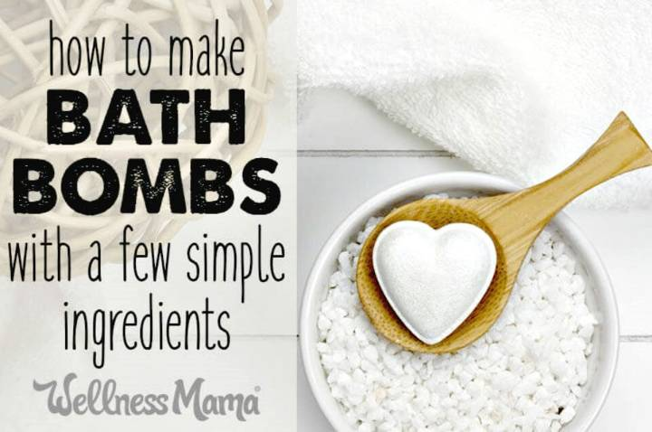 Easy How to Make Your Own Bath Bombs - Easy Recipe