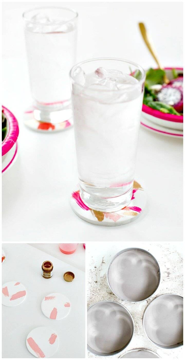 Adorable How To Make Brushstroke Coasters