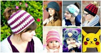 Crochet Hat Patterns – 148 Free Patterns for Beginners