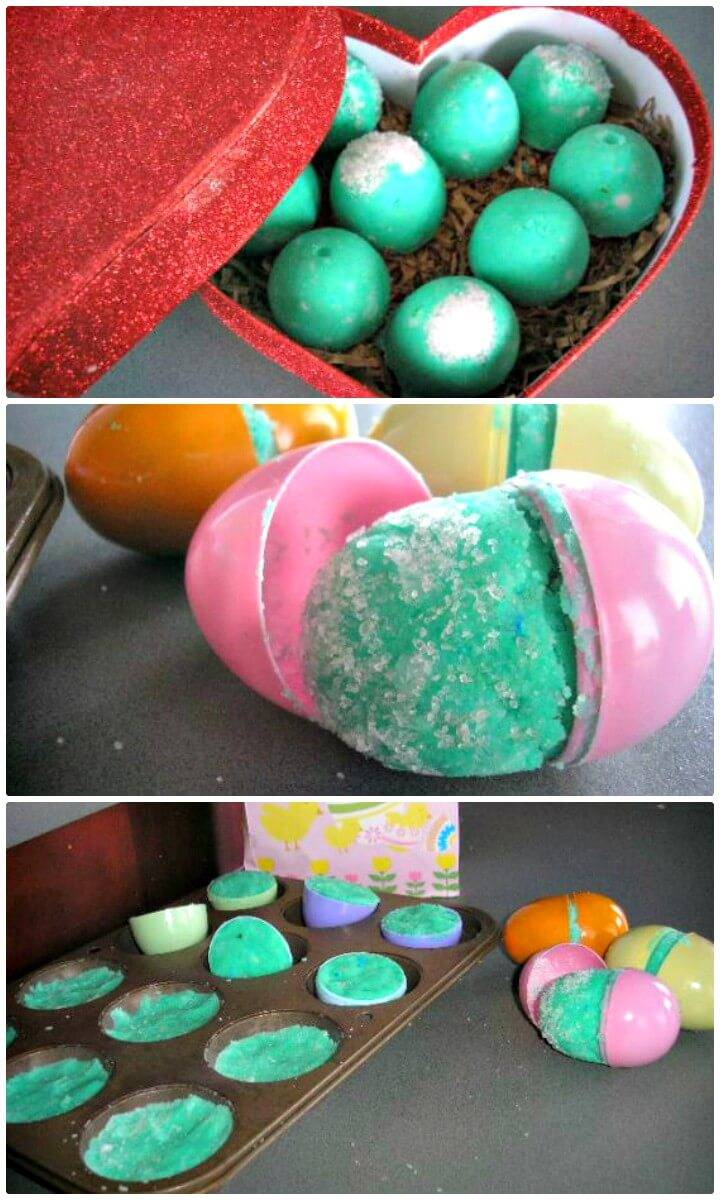 Make Your Own Fizzy Bath Bombs Using Kitchen Ingredients Tutorial
