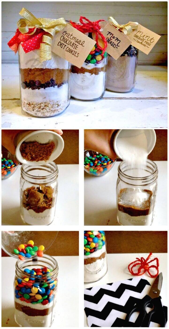 DIY Mason Jar Cookie Recipes