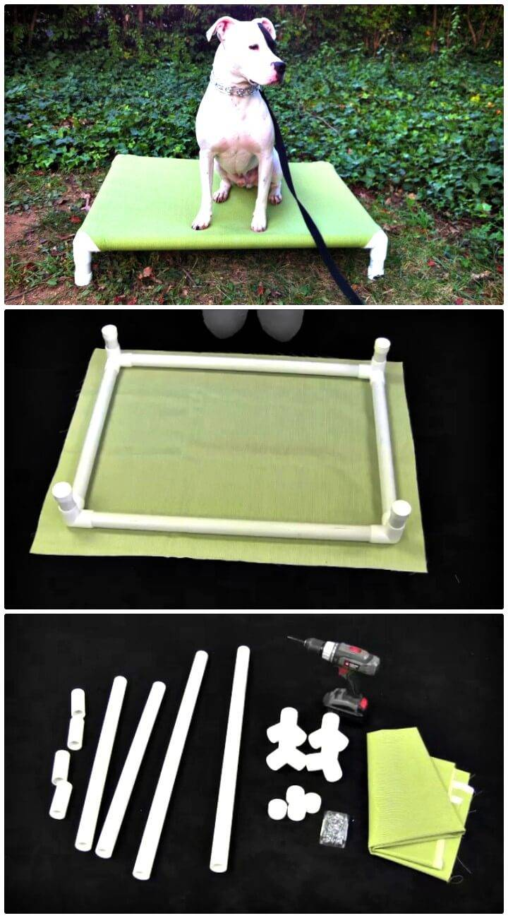 How to Make PVC Elevated Dog Bed Tutorial