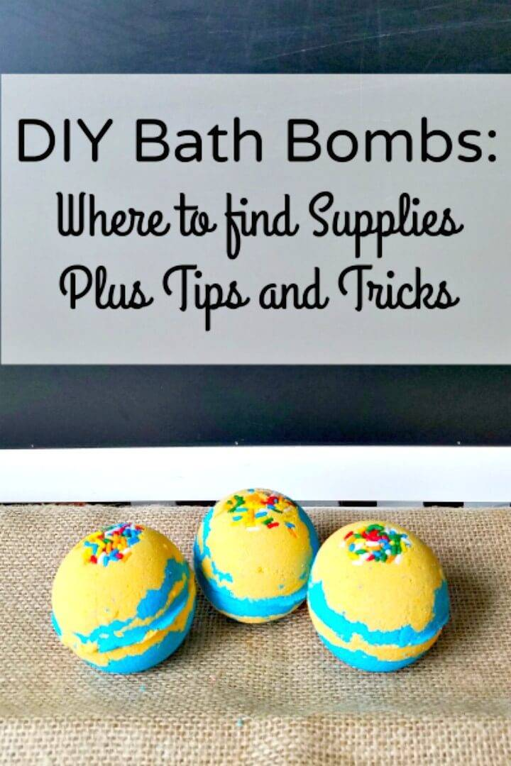 How to Make Bath Bombs - Supplies Plus Tips and Tricks