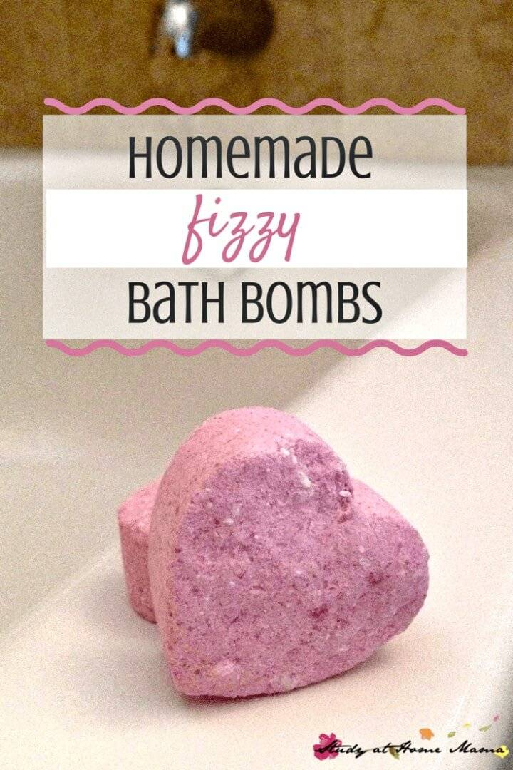 Easy DIY Fizzy Bath Bombs Tutorial