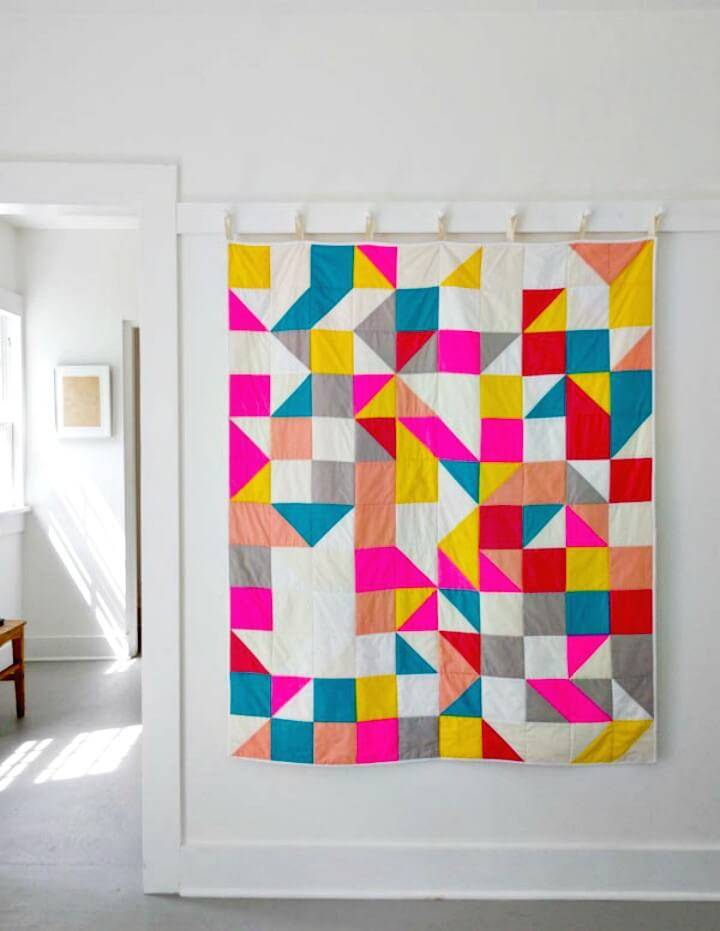 Make Your Own Modular Blocks Quilt Tutorial