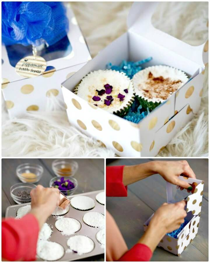 How to DIY Natural Bath Bombs - The Perfect Gift for a Group