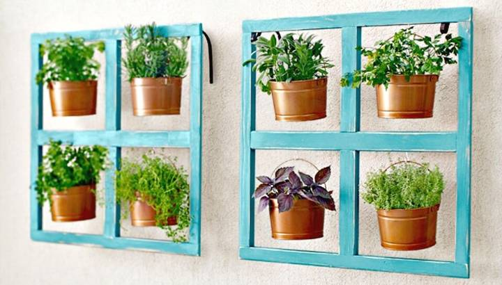 Gorgeous How To Build A Miniature Herb Garden - DIY
