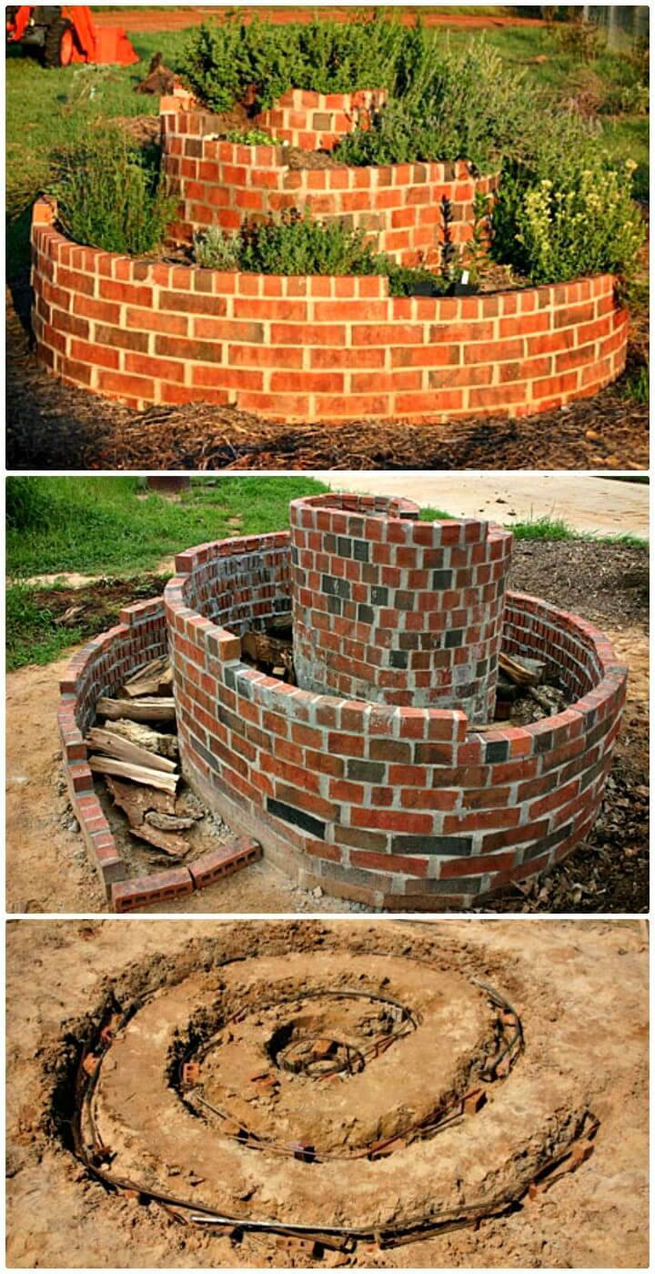 How To Build An Herb Spiral - DIY