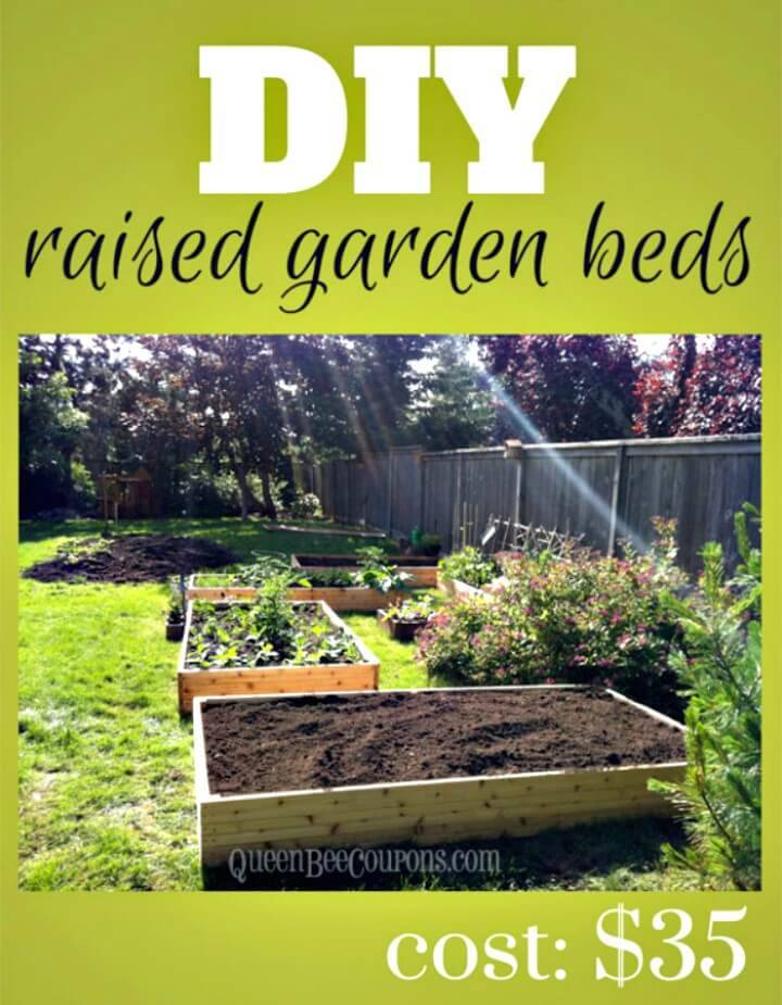 How To Build Raised Garden Beds For $35 - DIY
