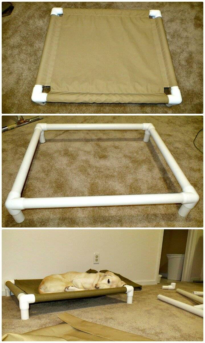 Build Your Own PVC Dog Bed Tutorial
