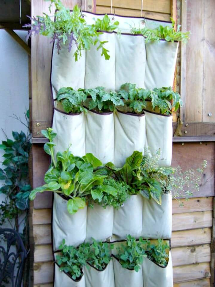 Build A Vertical Vegetables Garden - DIY