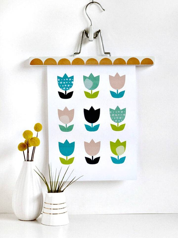 Simple How To Create Printable Tulip Wall Art for Spring