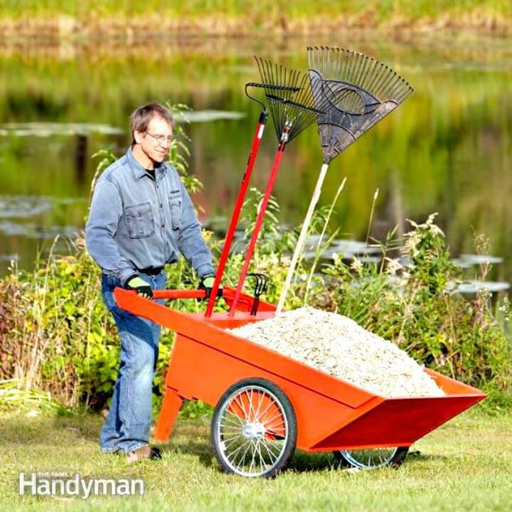 How To DIY Garden Cart