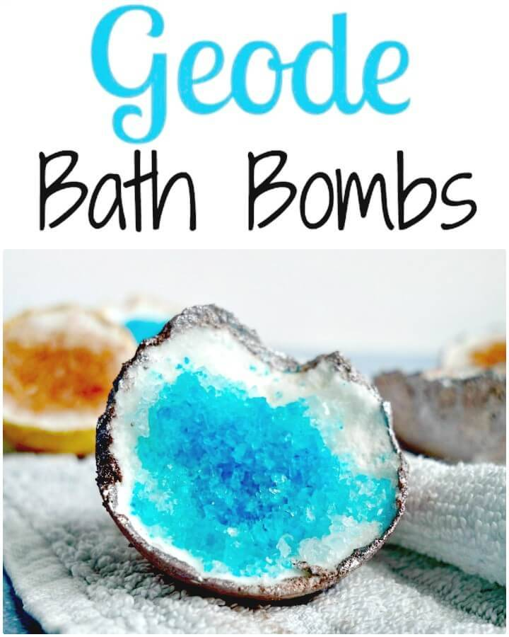 Easy DIY Geode Bath Bombs - Improved Recipe