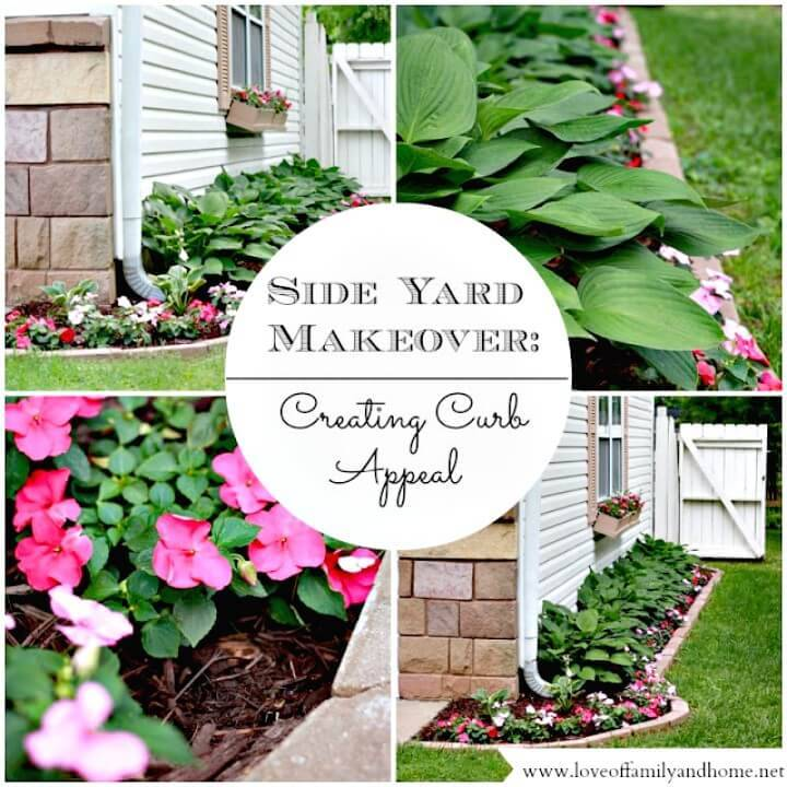 Easy DIY Side Yard Makeover