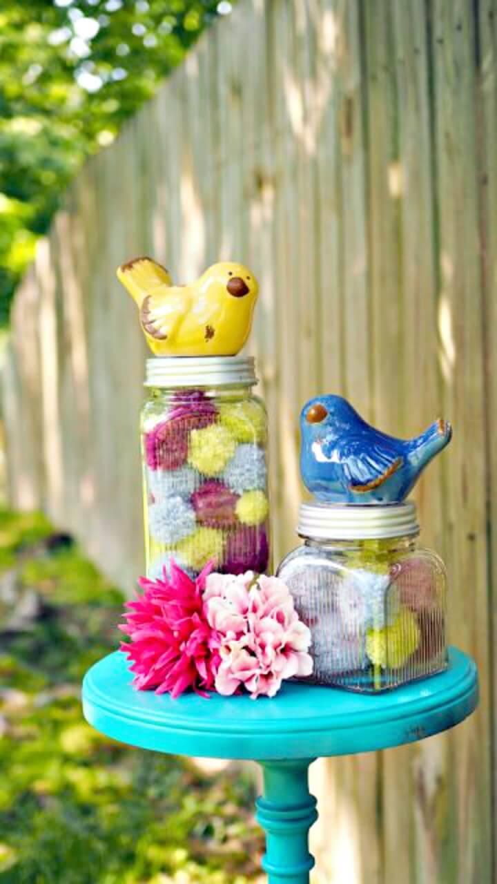 How To Make Baby Loves Nursery Jars - DIY Mason Jars Crafts