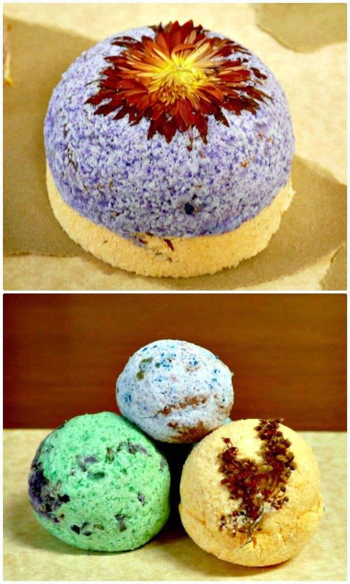 Easy How To Make Bath Bomb Recipes + Tutorial - Great Gifts