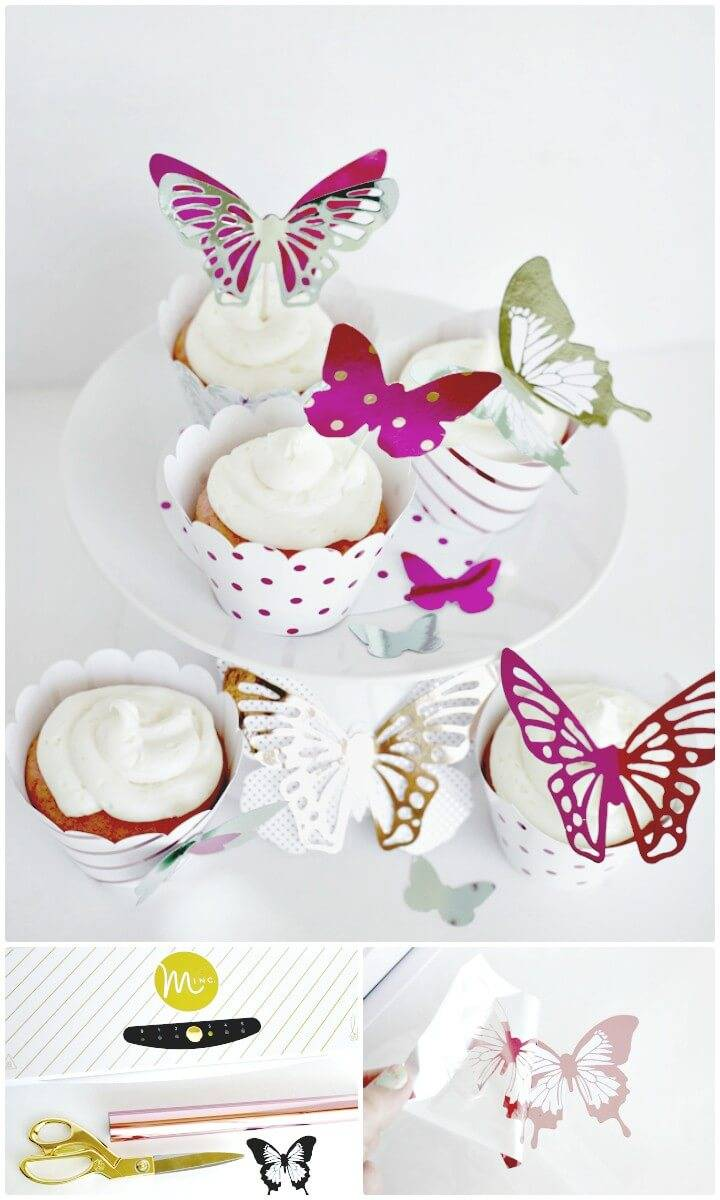 Cute How To Make Butterfly Cupcakes With Heidi Swapp Minc