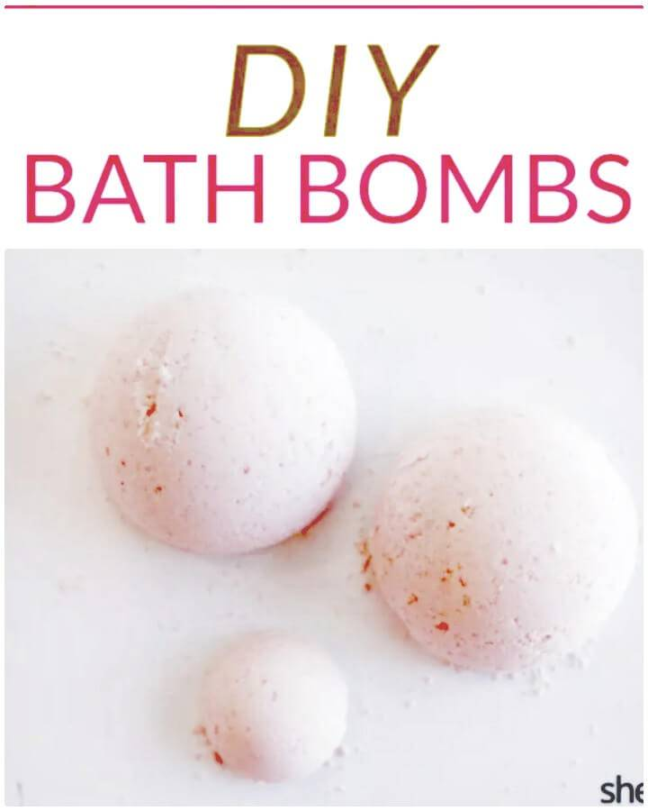 Easy How To Make Homemade Bath Bombs in Six Easy Steps