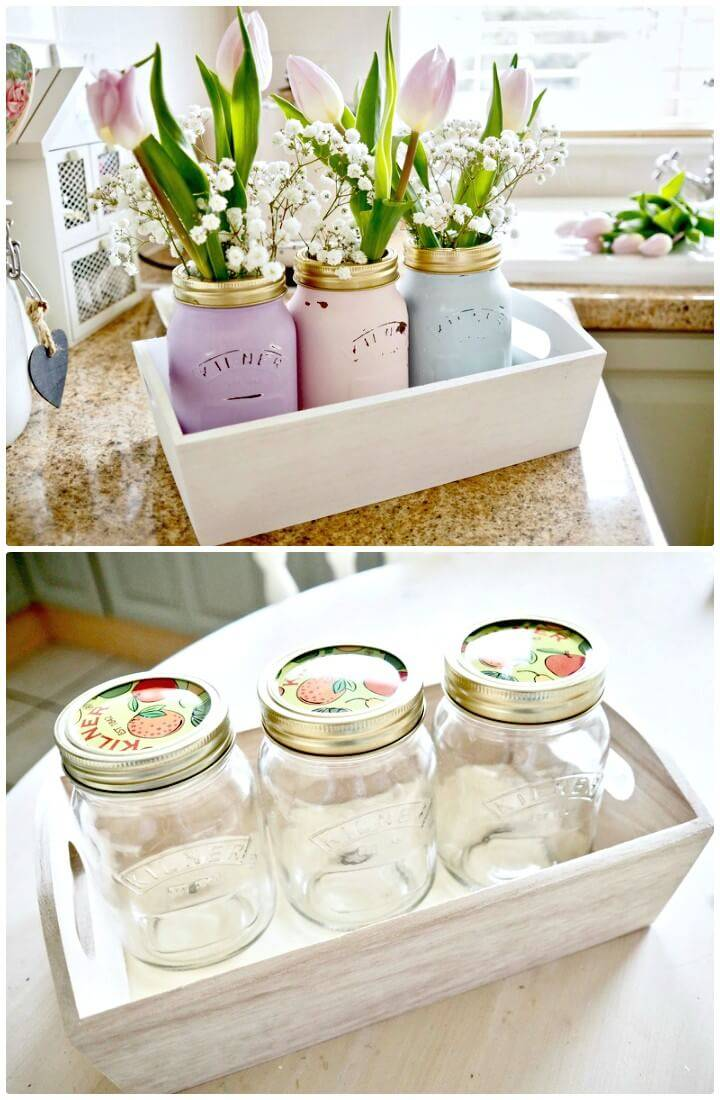 130 Easy Craft Ideas Using Mason Jars for Spring & Summer - DIY & Crafts