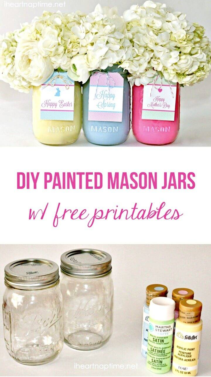 130 Easy Craft Ideas Using Mason Jars For Spring Amp Summer ⋆ Diy Crafts
