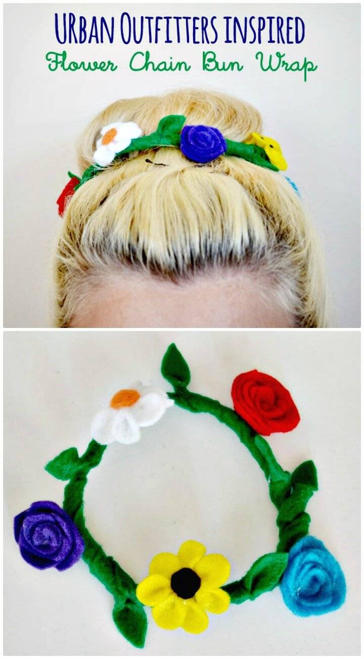 Adorable How To Make Urban Outfitters-Inspired Bun Wrap