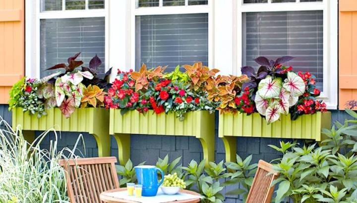 Easy How To Make and Install Window Boxes