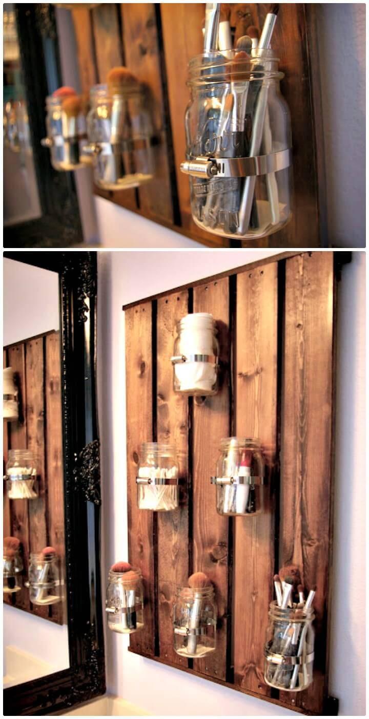 Make Your Own Mason Ball Jar Storage - DIY