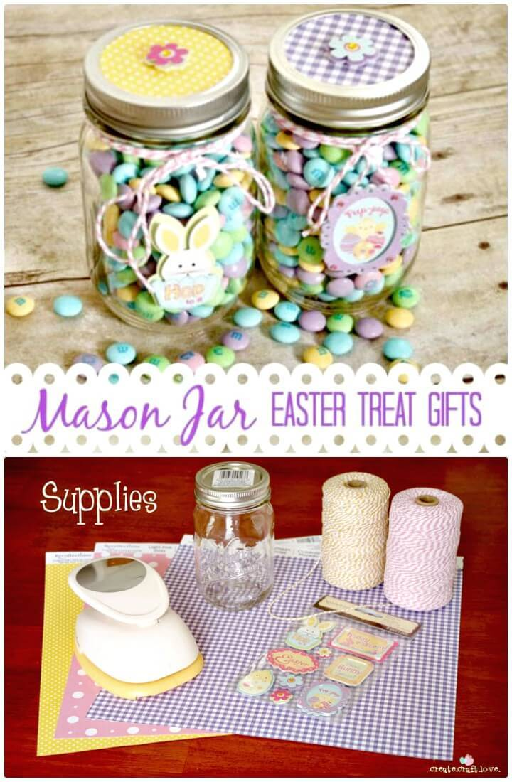 Make Your Own Mason Jar Treat Gifts - DIY for Spring & Summer