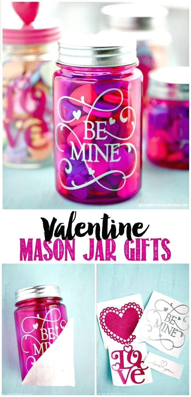 Make Your Own Valentine's Day Mason Jar Gifts - DIY