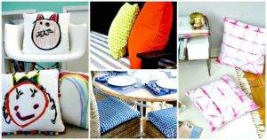 20 DIY Cushions or DIY Pillow Ideas To Upgrade Your Seating