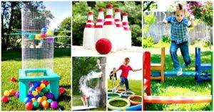 68 Best DIY Outdoor Games For Summer & Spring