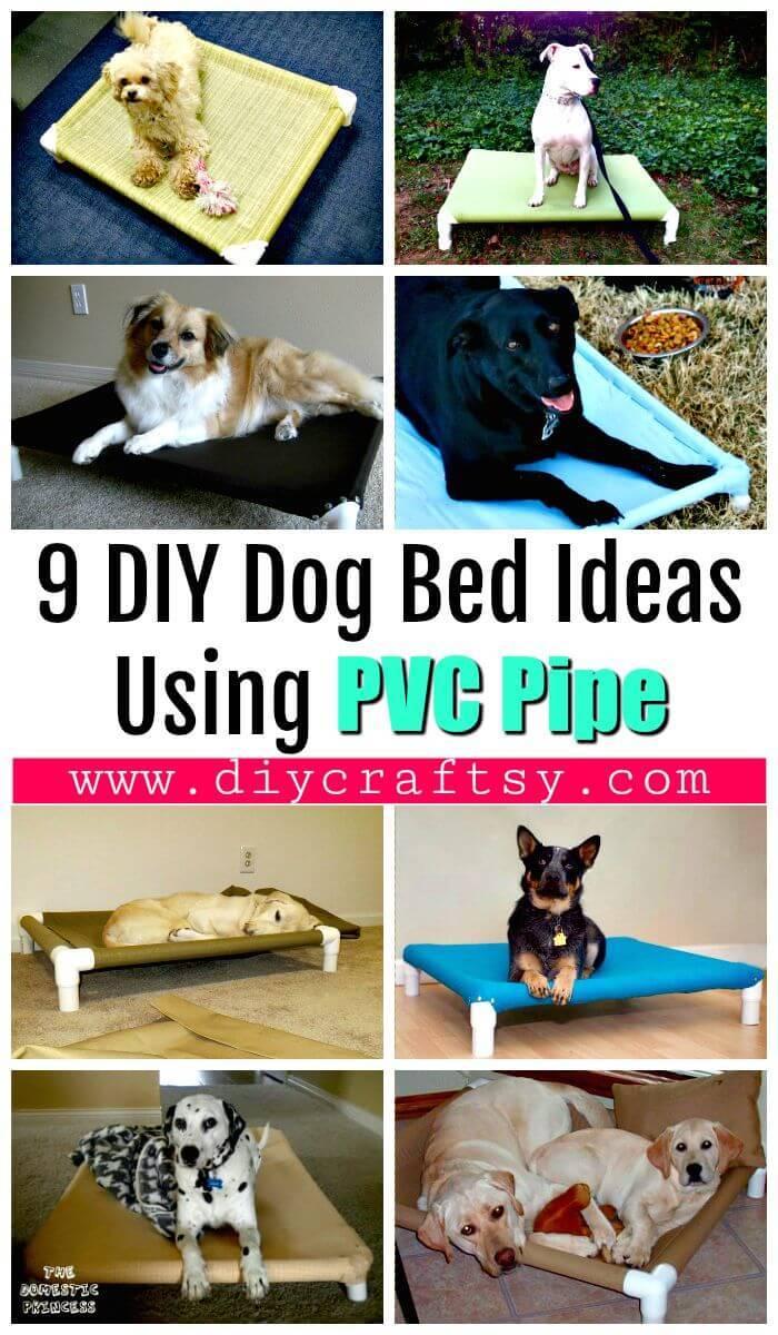 9 Diy Dog Bed Ideas Using Pvc Pipe Diy Crafts