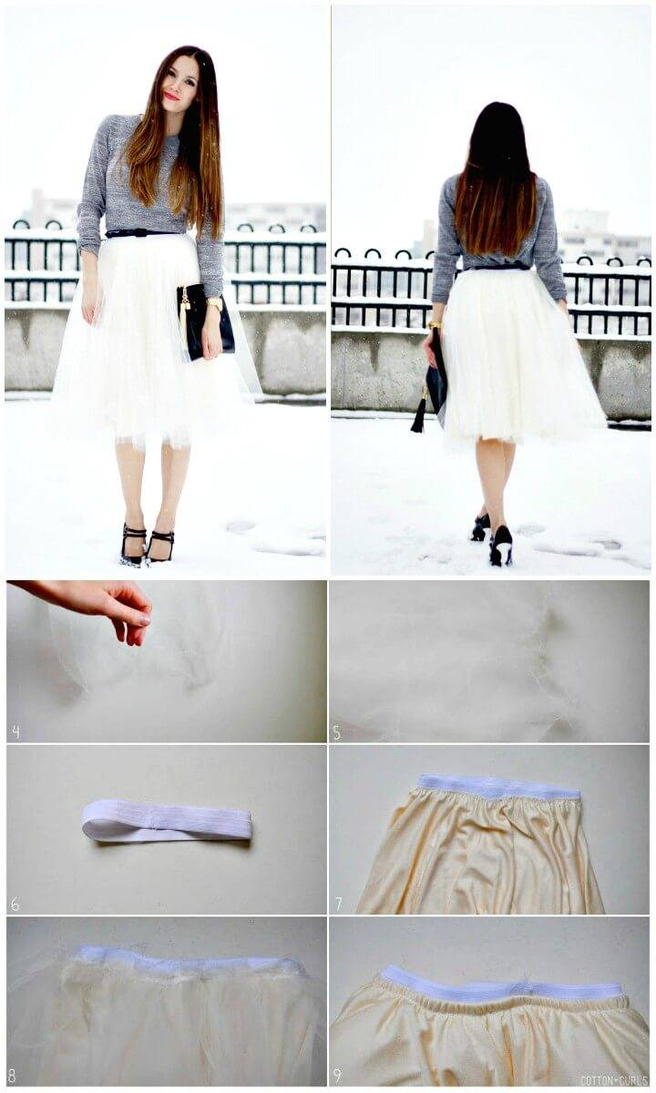 How to DIY Tulle Skirt