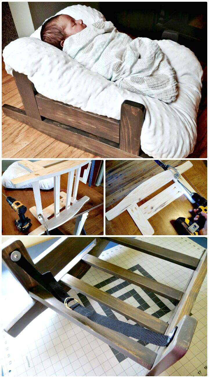 DIY Homemade Wooden Pillow Lounge Cradle
