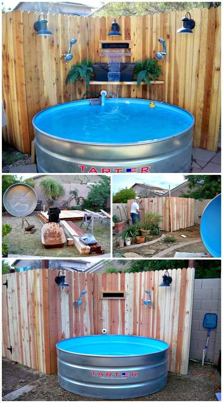 How To DIY Backyard Pool