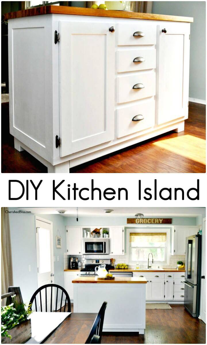 Adorable How To Make Kitchen Island