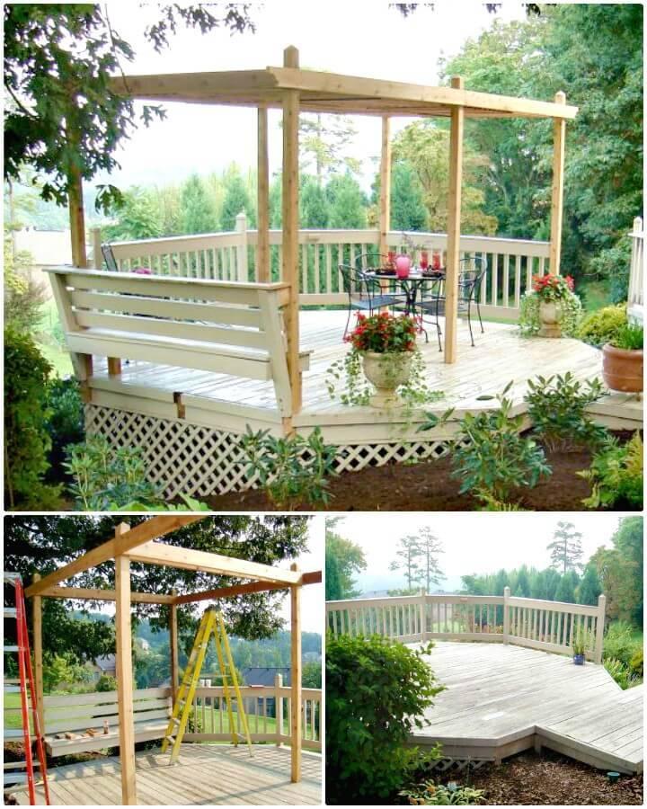Adorable How to Build a Backyard Pergola - DIY