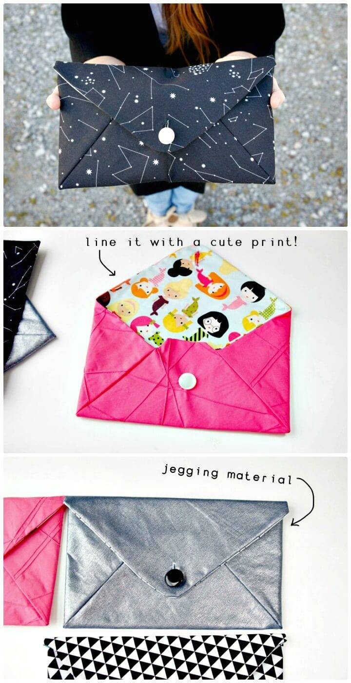 Adorable DIY Envelope Clutch Pattern