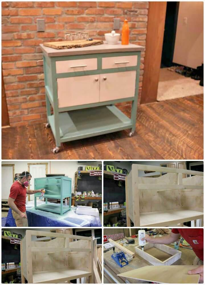 How to Make A Kitchen Island Cart