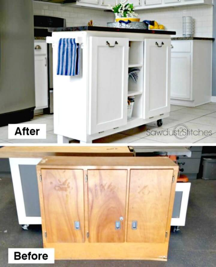 Awesome How to Upcycle Kitchen Island