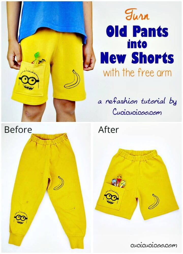 Beautiful DIY Shorts for Kids