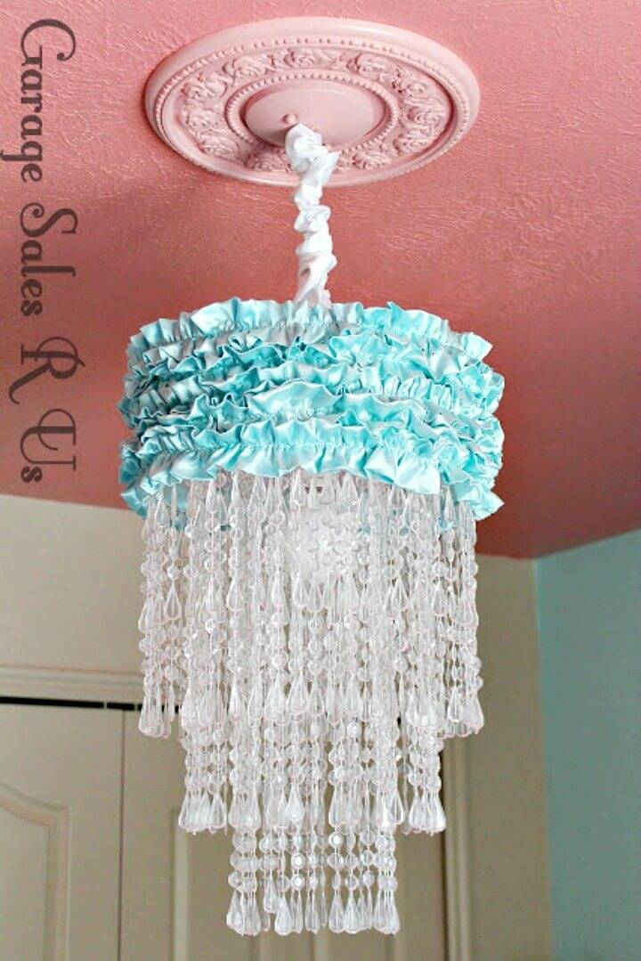 Beautiful How to DIY Chandelier - Homemade Decor Ideas