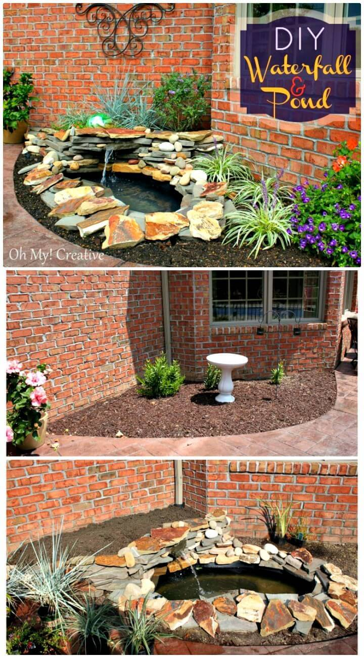 Make a Pond & Landscape Water Feature - DIY Backyard Ideas