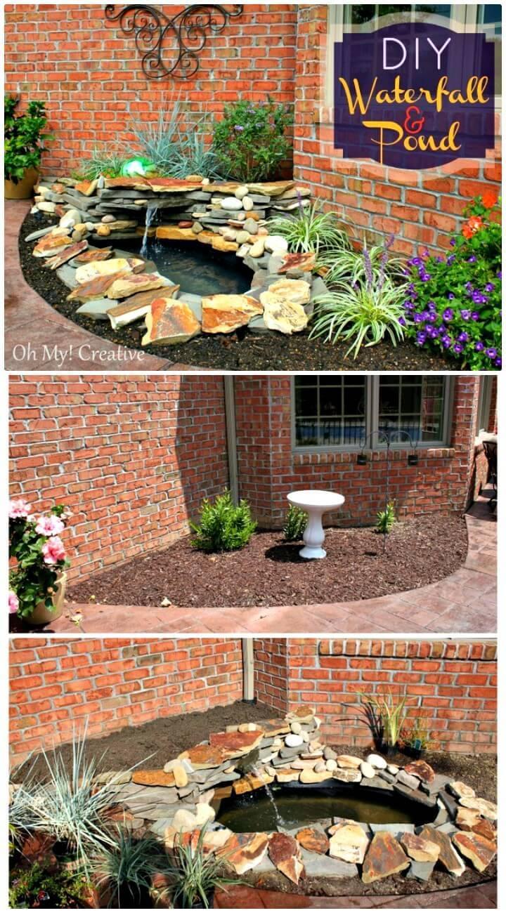 Make a Pond & Landscape Water Feature - DIY Backyard Ideas