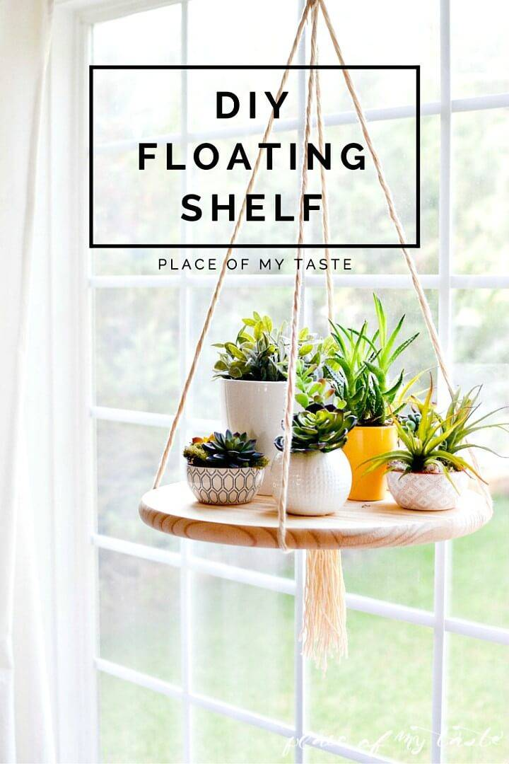 How to Build A Functional Floating Shelf - DIY
